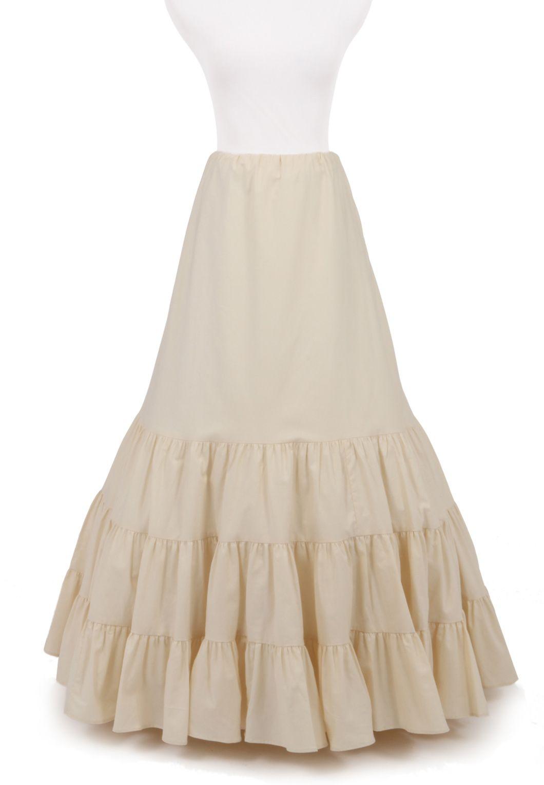 Victorian Style Skirt Linen Petticoat Ruffle Linen Skirt Victorian Style Petticoat Black Linen Skirt Black Linen Petticoat Linen Skirt