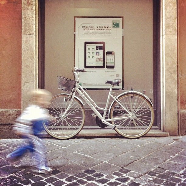 Sulla strada with spotty 3G #bicycle #latergram Happy Sunday! #andiamoalmare