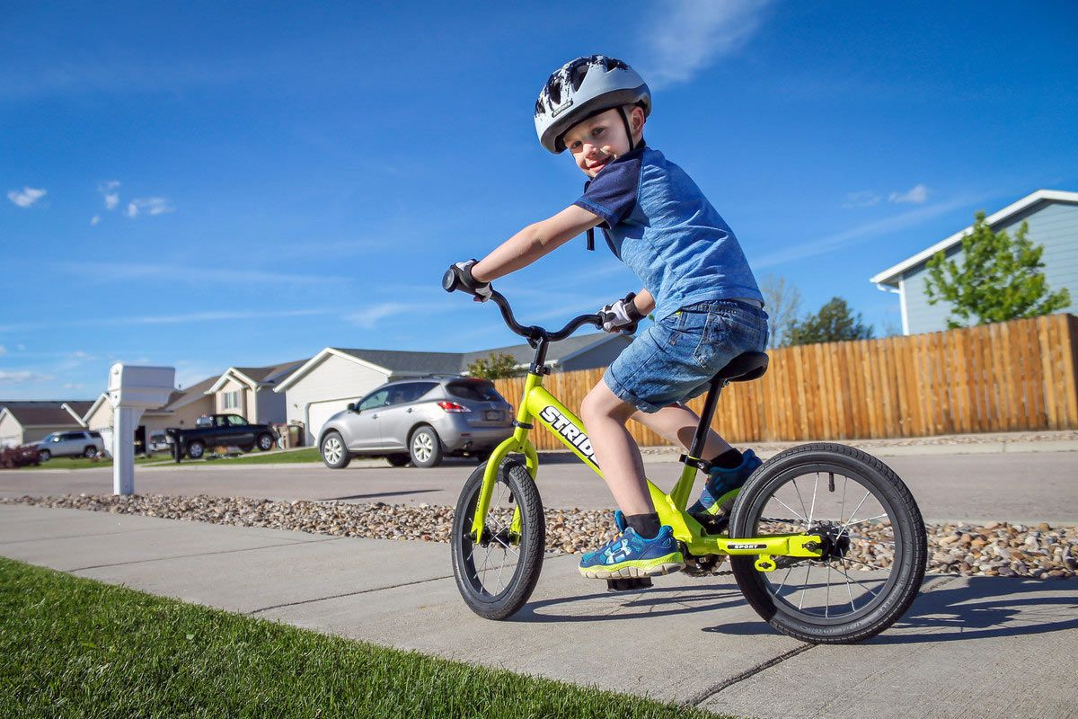 Brilliant New Strider 14x Sport Quickly Transforms From Balance