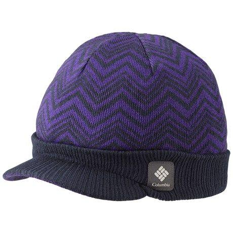 e29f13e7fab Columbia Sportswear Urbanization Visor Beanie Hat (For Men and Women) in  Abyss