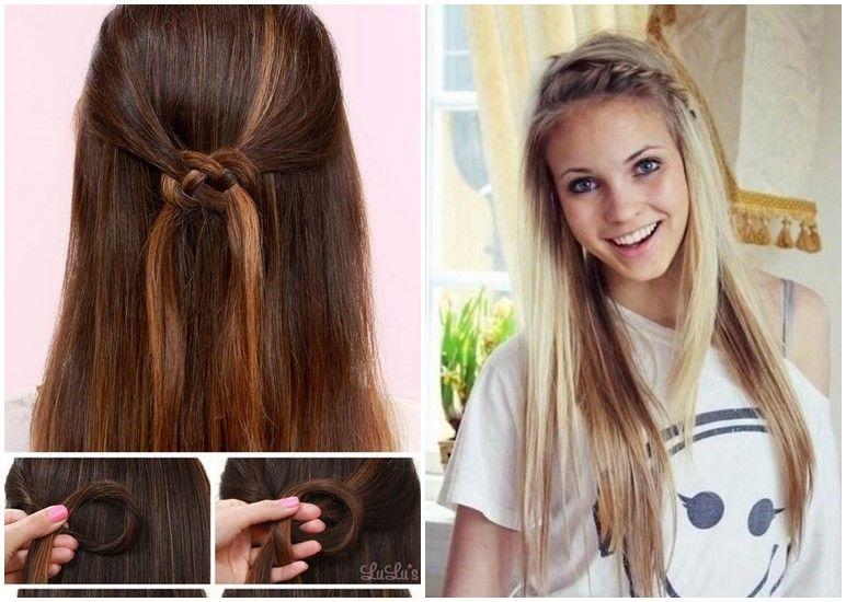 Schöne Frisuren Für Die Schule Einfache Frisuren Frisuren 2018