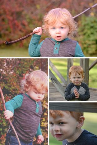 2 Year Old Fall Photo Shoot