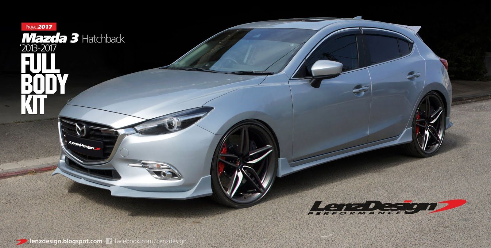 Mazda 3 bm 2017 body kit hatchback sedan