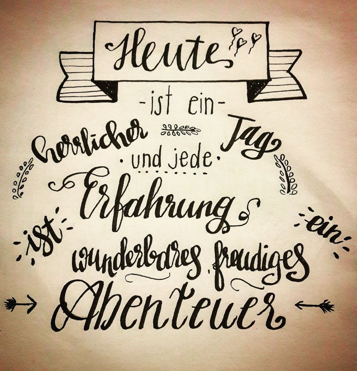 Handlettering By Gs Henna Lettering Hand Lettering Quotes