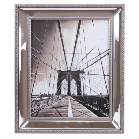 Enigma 8 In By 10 In Mirrored Picture Frame Silver Mirrored Picture Frames