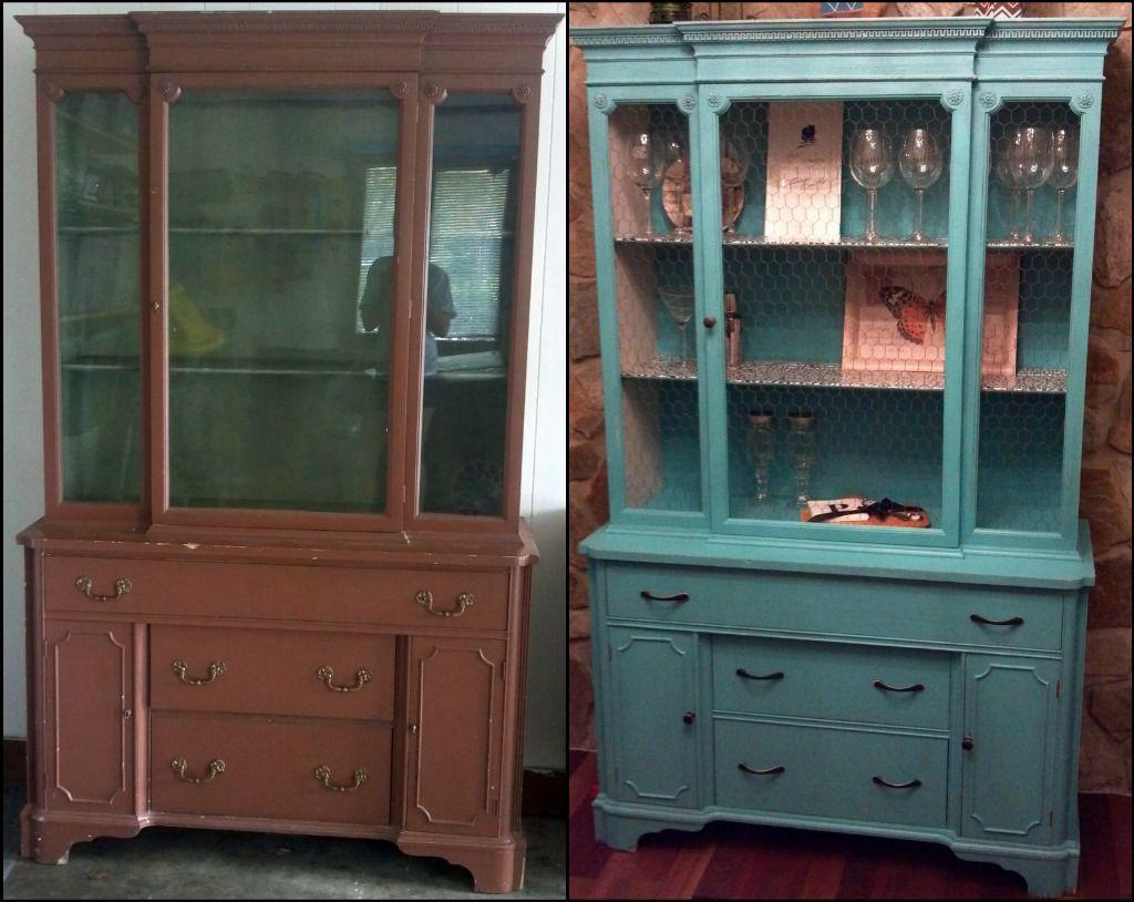 Thrift Store Eye Sore Into Braggable Treasure   Refurbished Distressed  Furniture