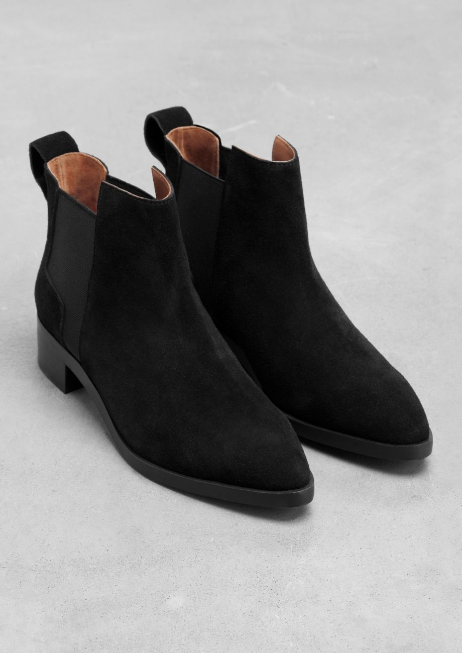 e4882eb0dd6 Suede Ankle Boots