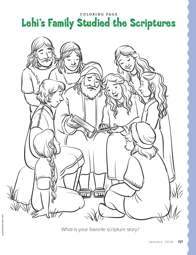 Nephi Gets The Brass Plates In 2020 Coloring Pages Color Holy Ghost Lds