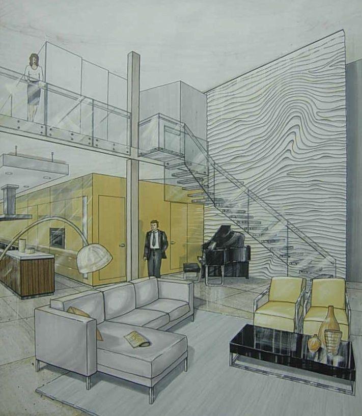 Ryerson Interior Design Portfolio Examples Home Design Ideas 25