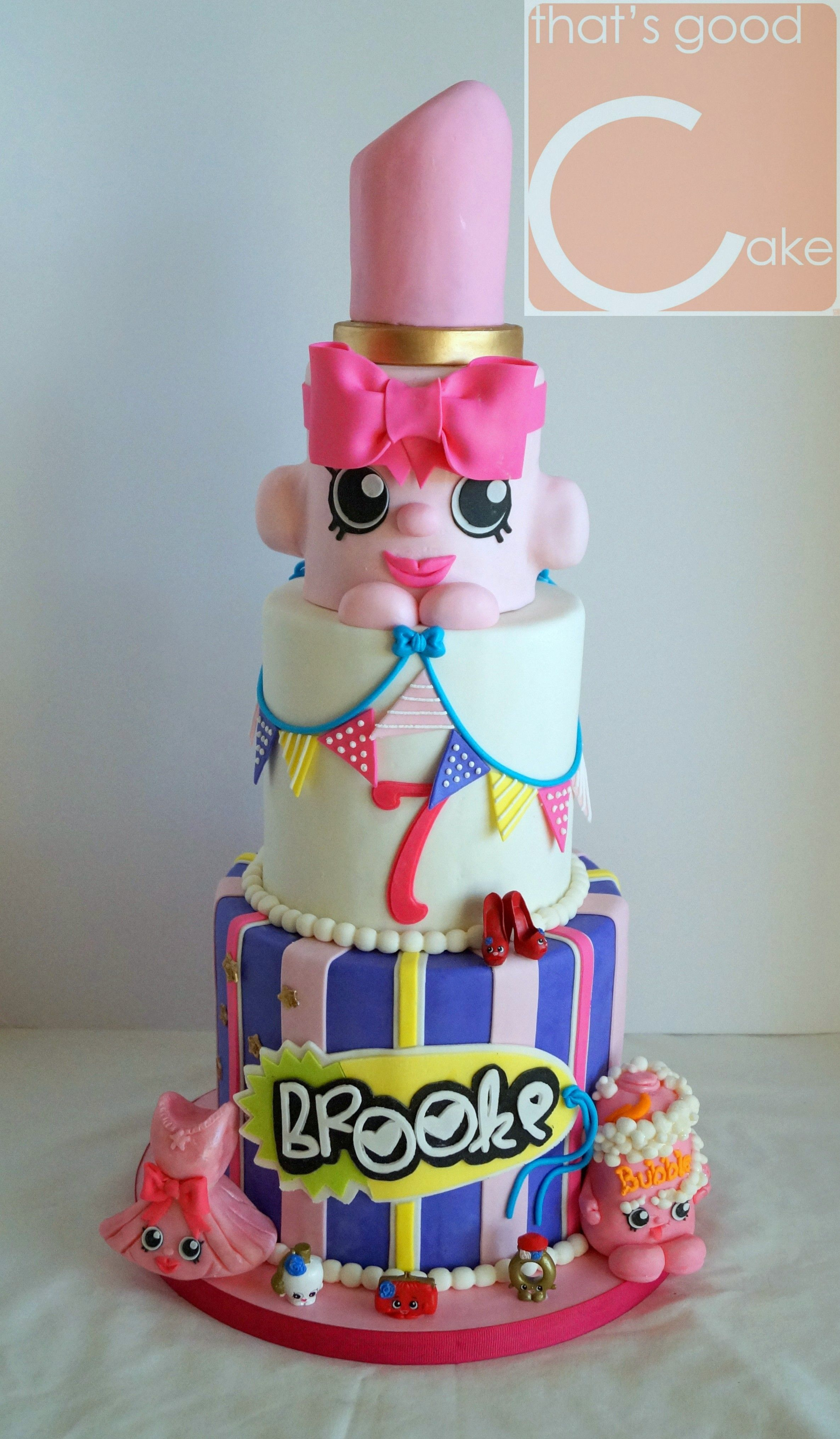 Shoppies Birthday Cake