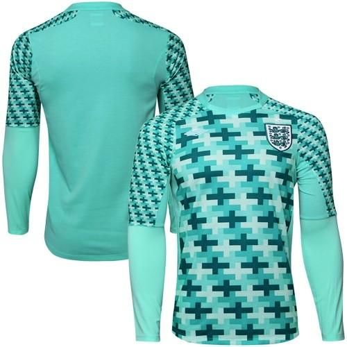 england blank away goalkeeper long sleeves soccer country jersey only 22.50usd