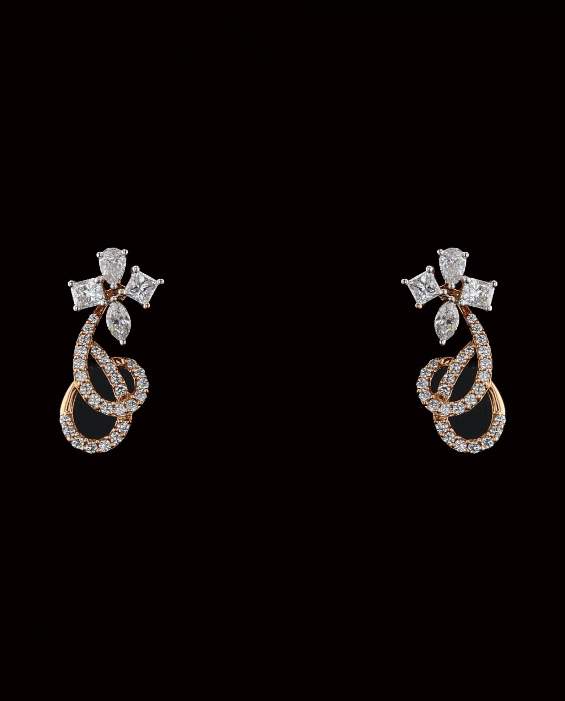 DIAMOND EARRINGS jewelry Pinterest