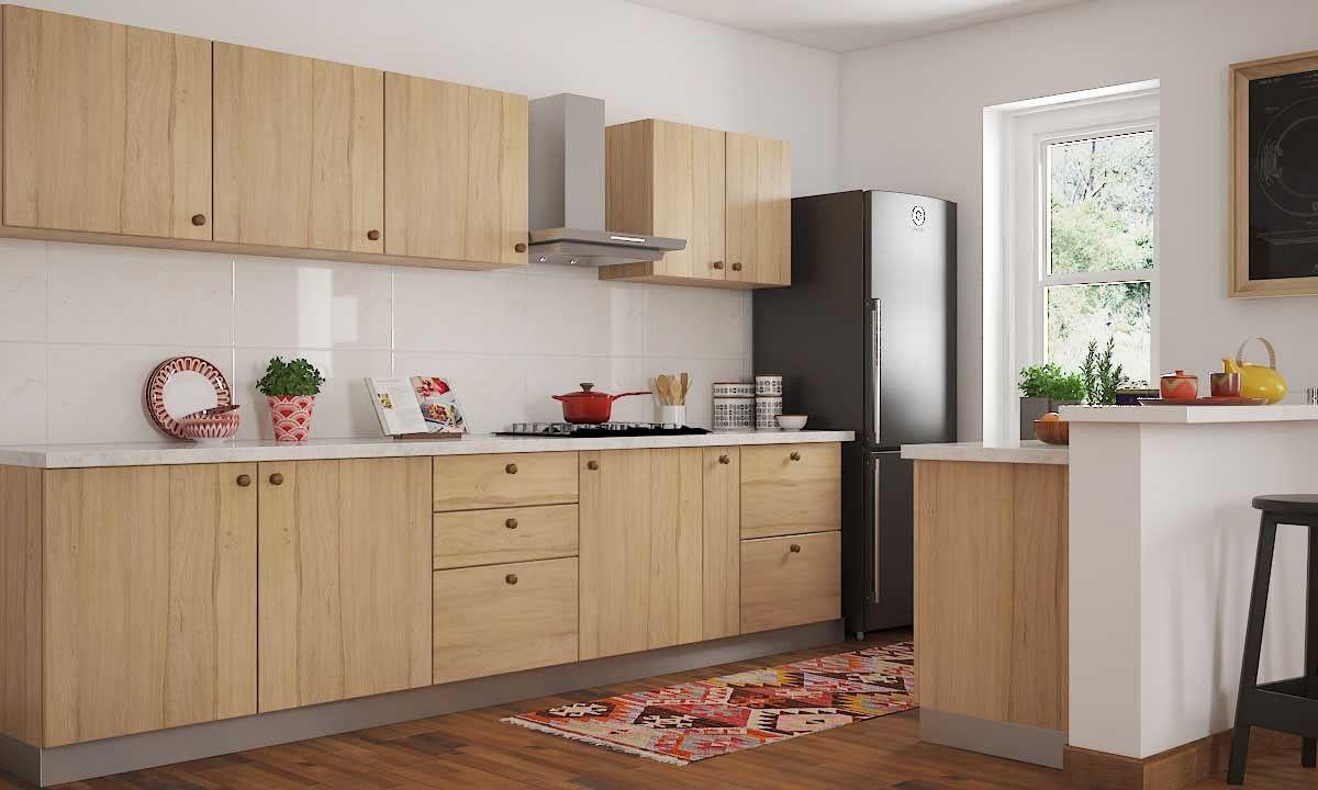 Parallel Kitchen, Mangalore  Modern kitchen cabinets, Modern