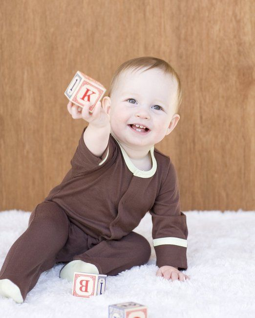 Baby Soy Chocolate Footie:  www.yogaso.com