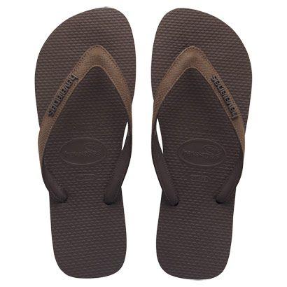 342ec7b2a6 Havaianomaníacos  Havaianas TOP Elegance. As sandálias com tiras de couro.