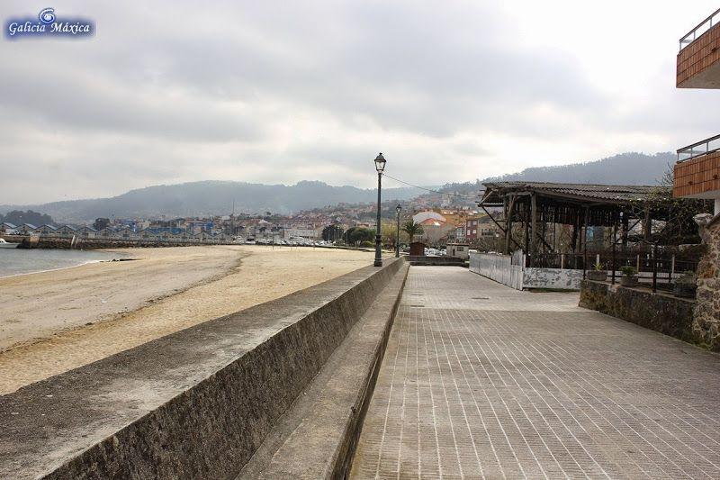 Playa de Banda do Río. Bueu