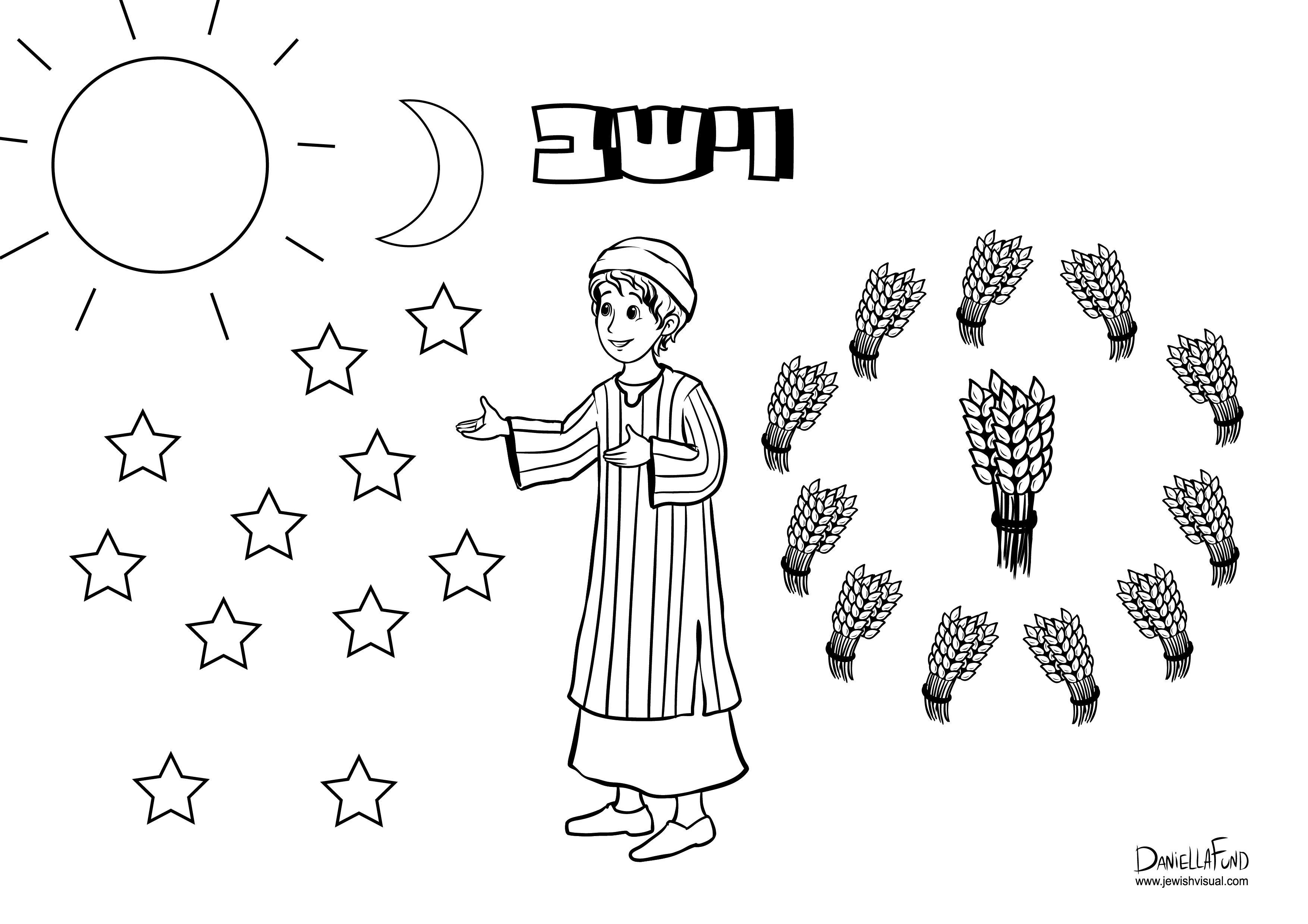 פרשת וישב Alphabet Activities Jewish Art Free