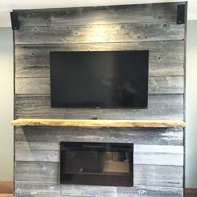 Fireplace Reno By A Barnboardstore Com Client They Used