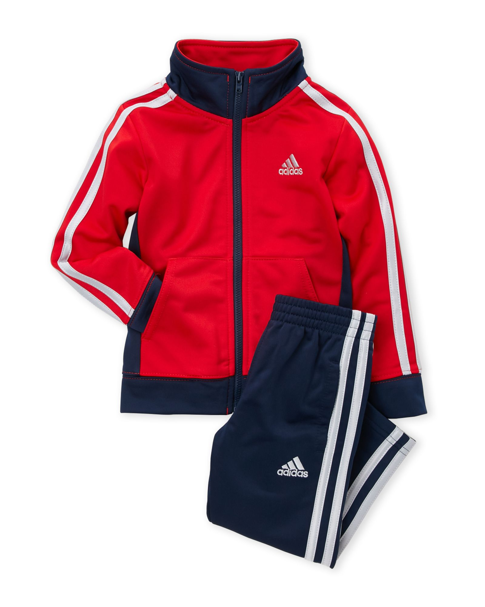 Boys 4 7) Two Piece Color Block Jacket & Track Pants Set