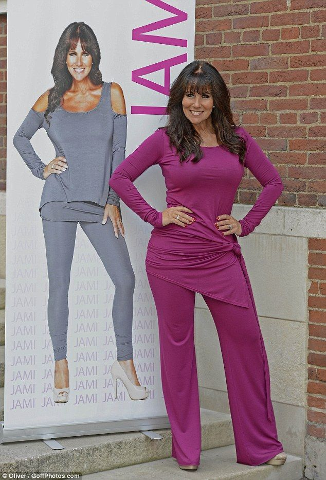 Model and actress Linda Lusardi launches her own clothing ...
