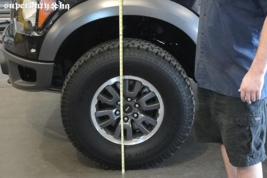 2017 ford raptor tire size best new cars for 2018. Black Bedroom Furniture Sets. Home Design Ideas