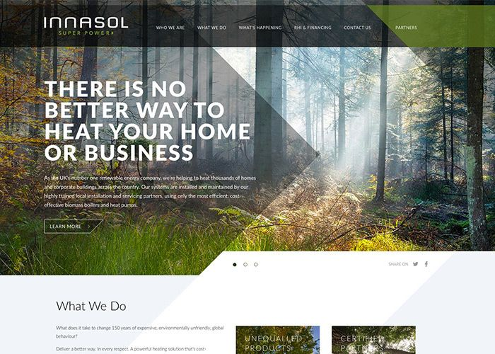 There's no better way to heat your home or business says Innasol, the UK's  premier renewable energy company. A smarter, more cost effective way to heat ,.