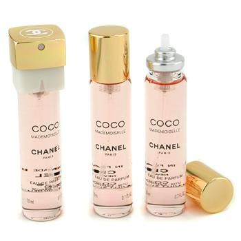 Special Offers Available Click Image Above: Chanel Coco Mademoiselle Twist & Spray Eau De Parfum Refill 3x20ml/0.7oz