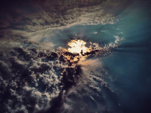 Nuvens e Sol