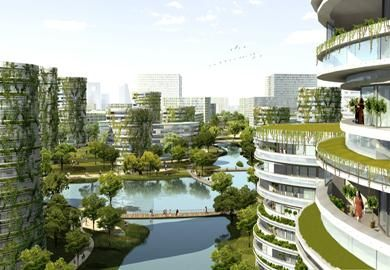 Tianjin Eco City - northern residences    http://www.detail360.com/project/sino-singapore-eco-city-pjid_3442.htm?fotoid=3#