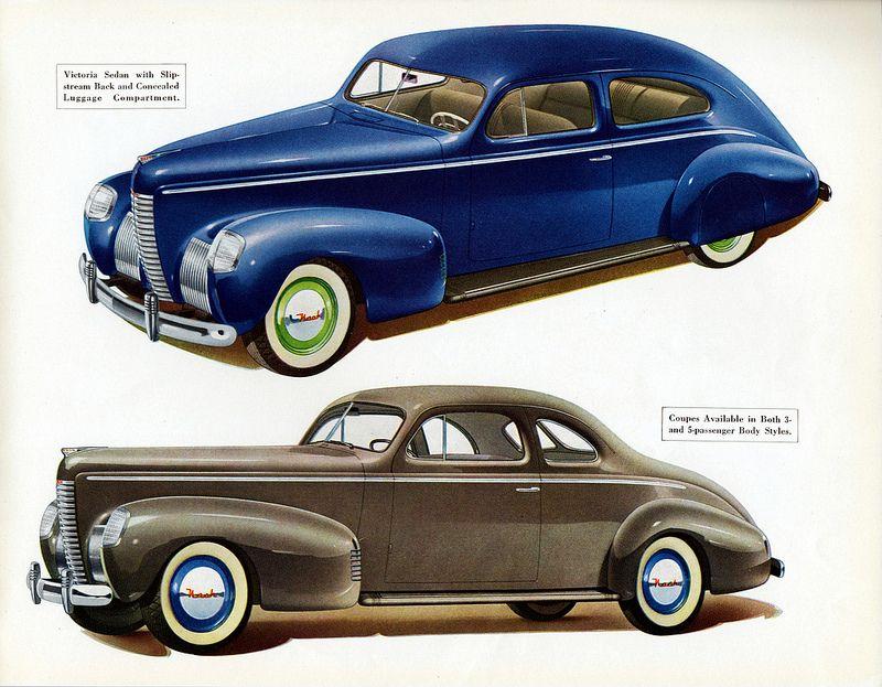 1939 Nash Ambassador Eight Coupe and Victoria Sedan