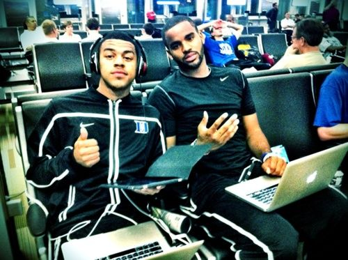 Quinn cook and josh hairston