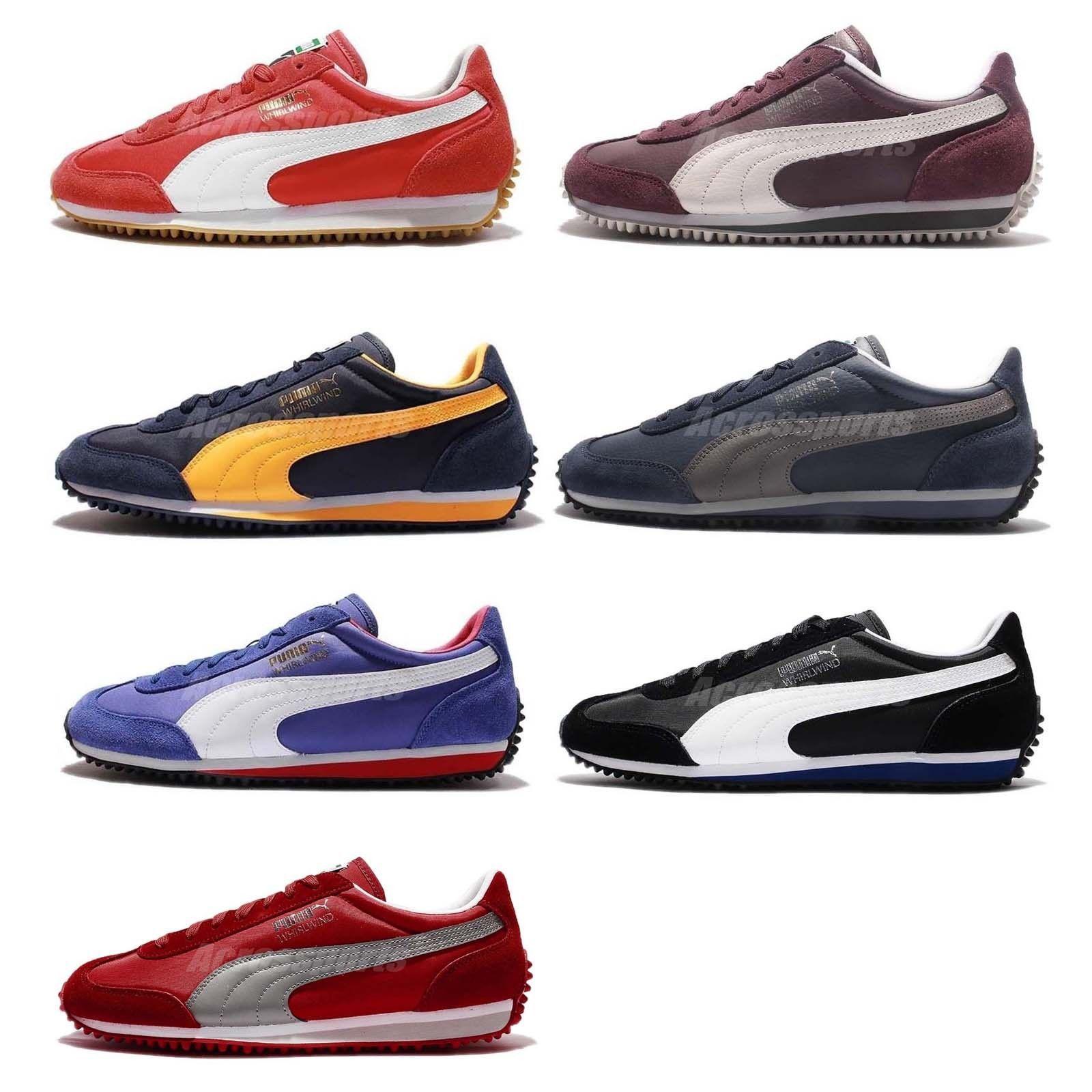 Puma Whirlwind Classic Mens Classic Casual Shoes Sneakers Pick 1 ... 49f5a61296e3c