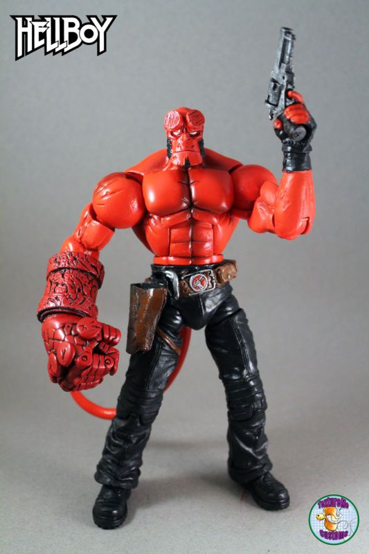 Hellboy Action Figure: HellBoy (Hellboy) Custom Action Figure