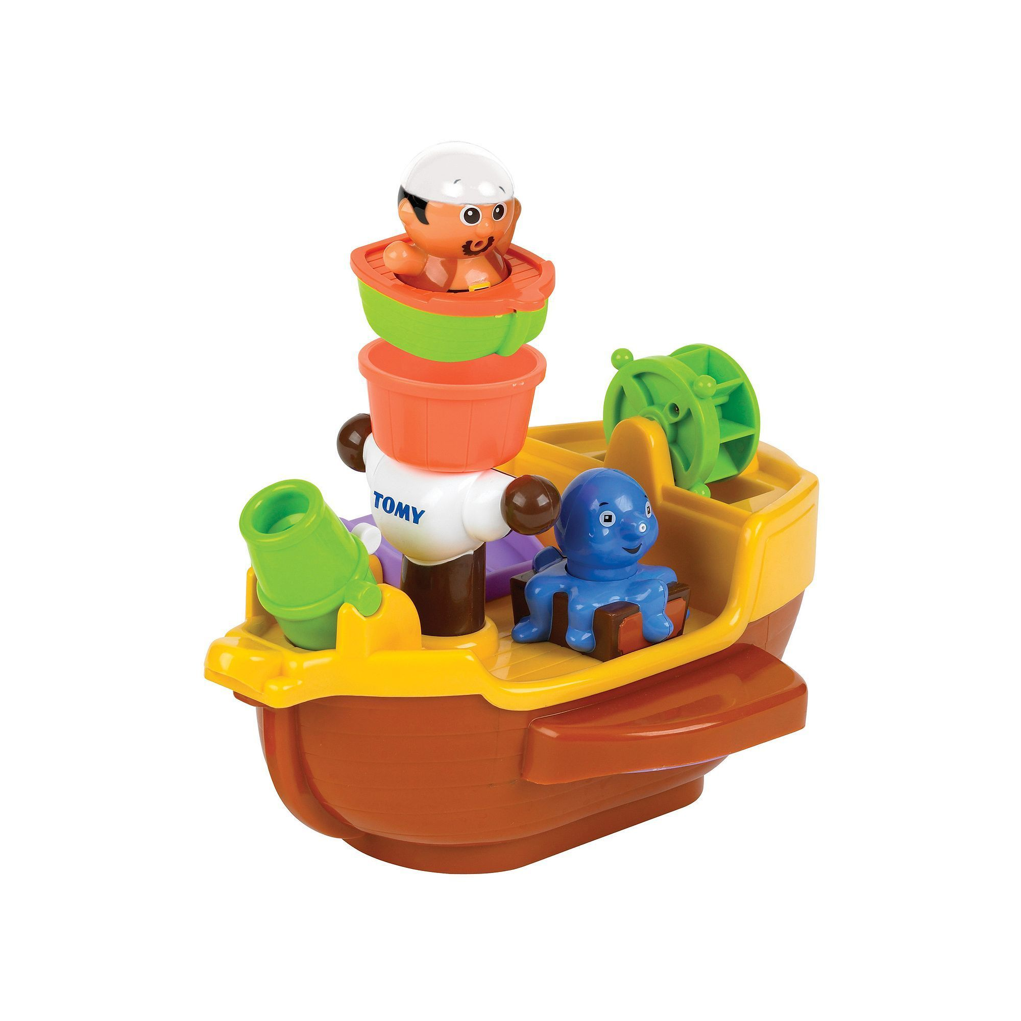 Tomy Pirate Ship Bath Toy, Multicolor | Products | Pinterest | Bath ...