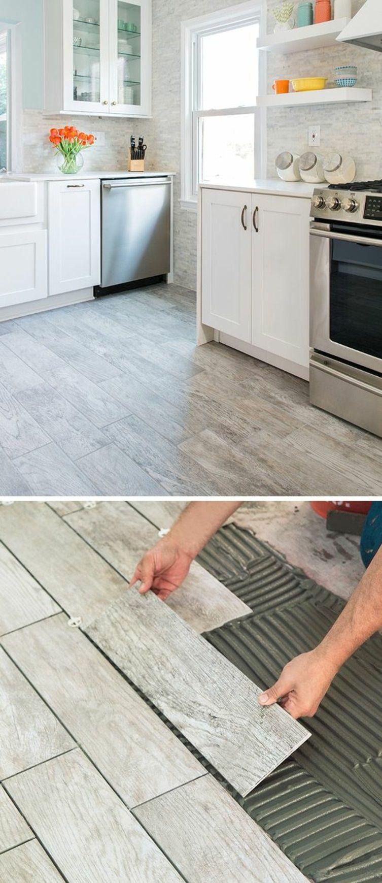 awesome Wohnung renovieren Laminat verlegen Küche Bodenbelag Check ...
