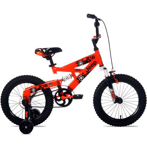 """boys 16"""" bike, red Sign in to see details and track"""