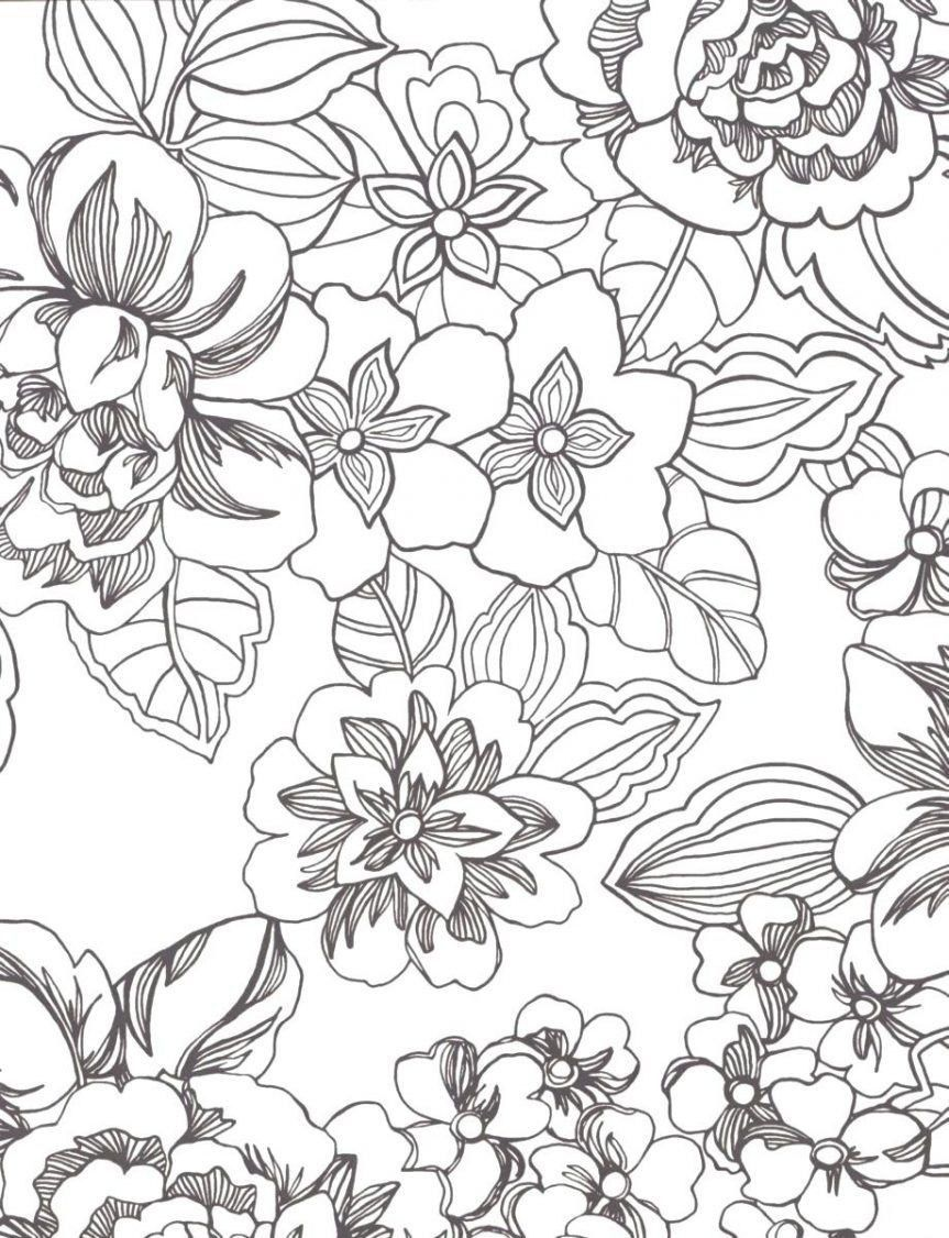 Tropical Plant Coloring Pages Collection