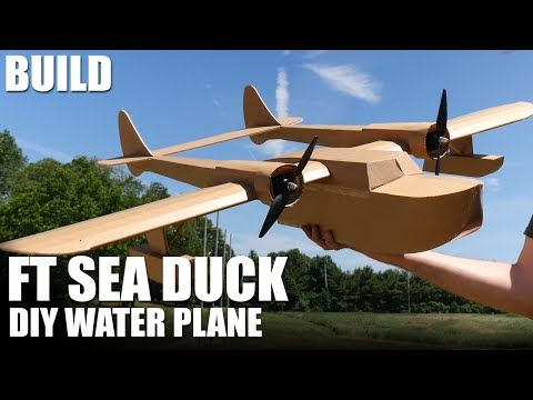FT Sea Duck - BUILD | Flite Test - YouTube | RC Planes Foam
