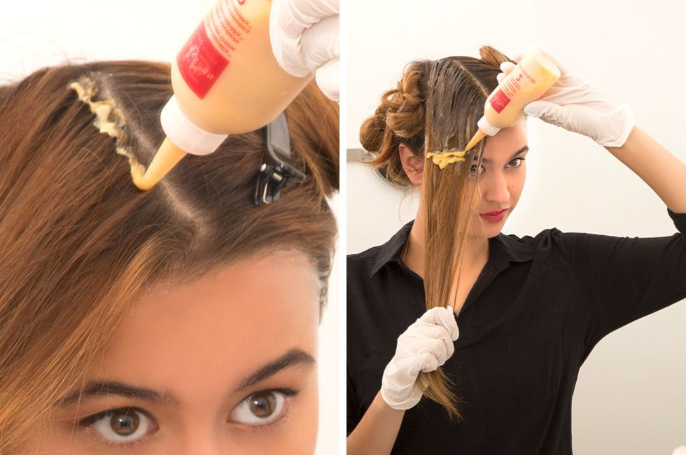 How To Color Hair At Home Step By Step Stuff To Try In