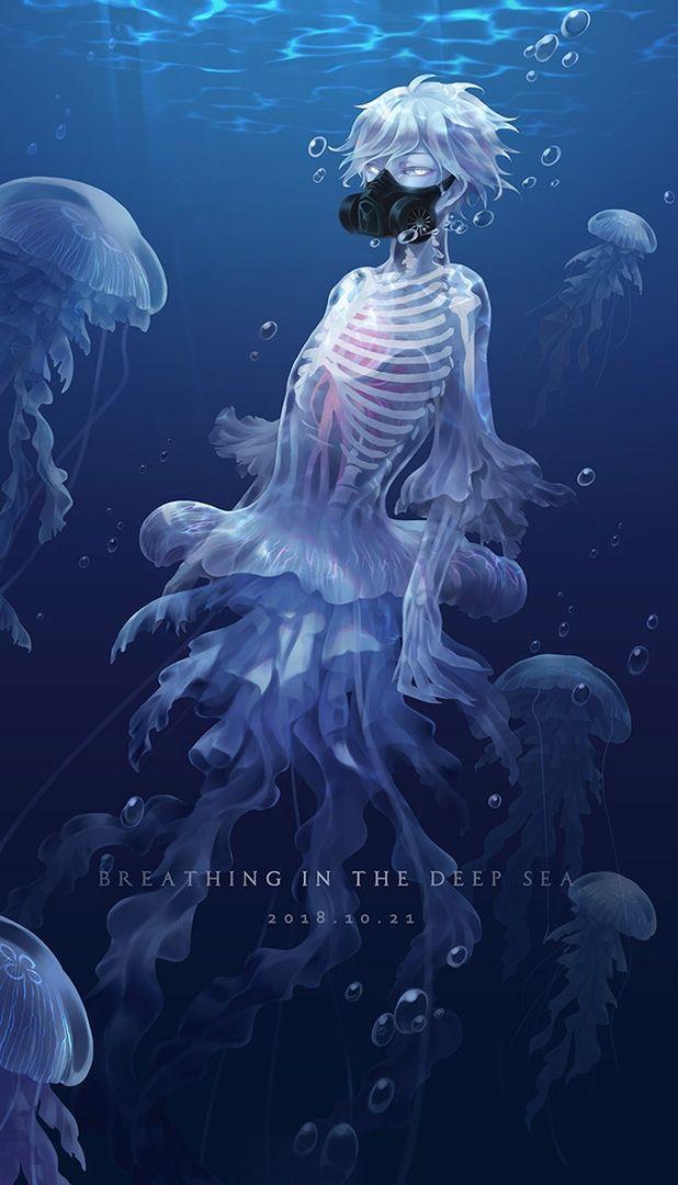 Photo of Мальчик… медуза? так интересно о.о