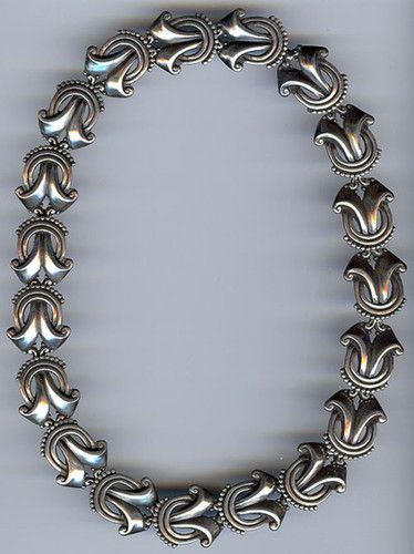 Margot De Taxco Mexico Striking Weighty Vintage Sterling