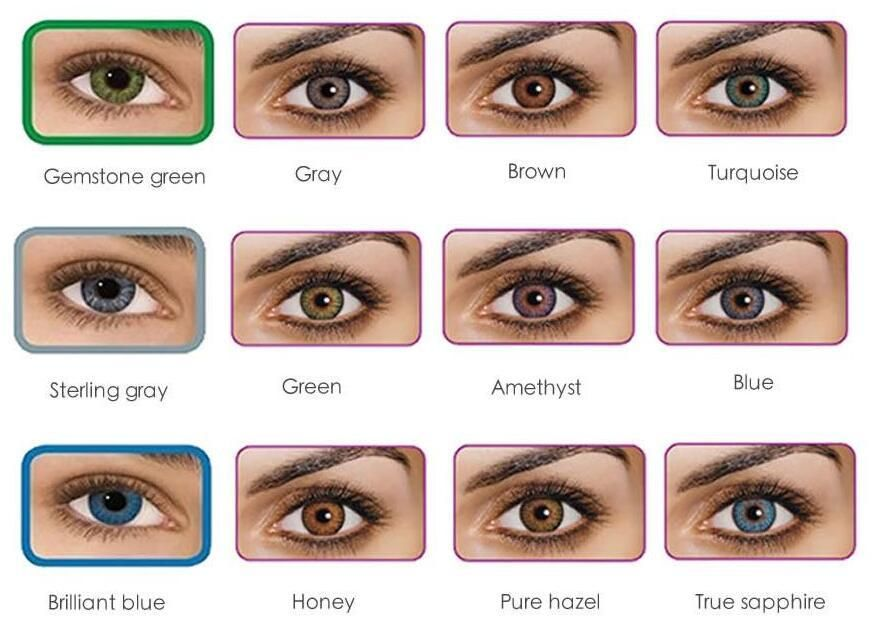 Find The Qualified 3 Tone Fresh Color Blends Contact Lenses Crazy