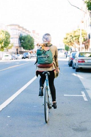 San Francisco Biker Style Bike Style Bicycle Chic Bicycle Fashion