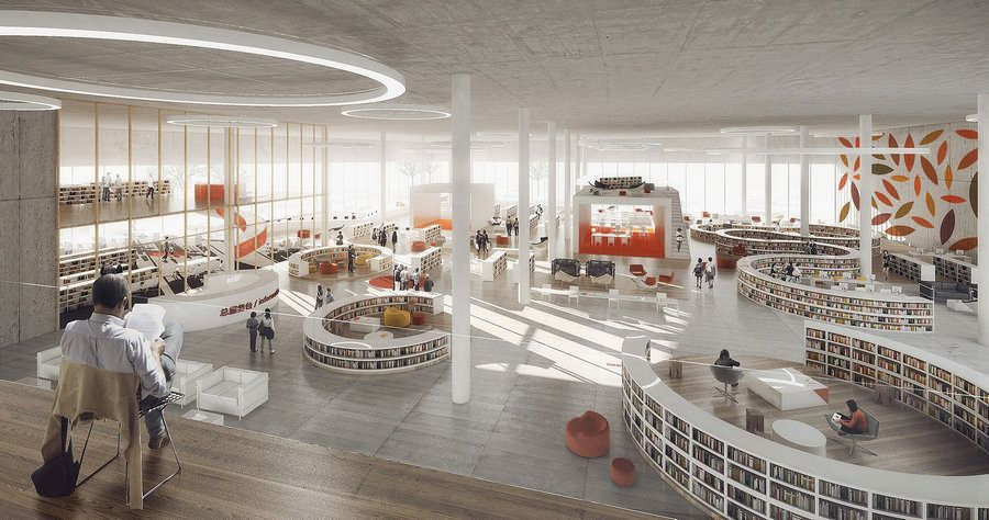 Ningbo Library Design Competition Library Inspiration