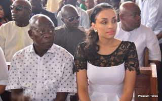 The wife of the former Governor of Edo state, Iara Oshiomhole, has