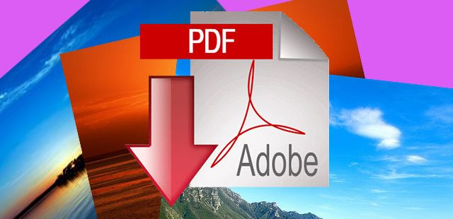 Come creare PDF da immagini con Windows