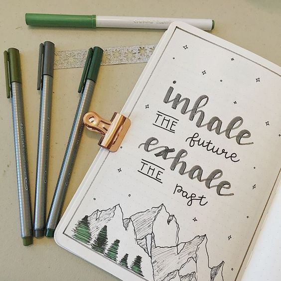 25 Bullet Journal Quote Page Ideas