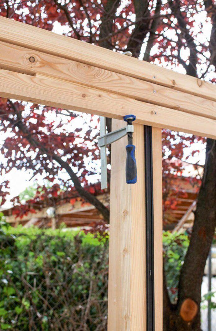 So Bauen Sie Einen Sichtschutz Aus Holz Selber Sichtschutz Garten Holz Sichtschutz Garten Selber Bauen Sichtschutz Holz
