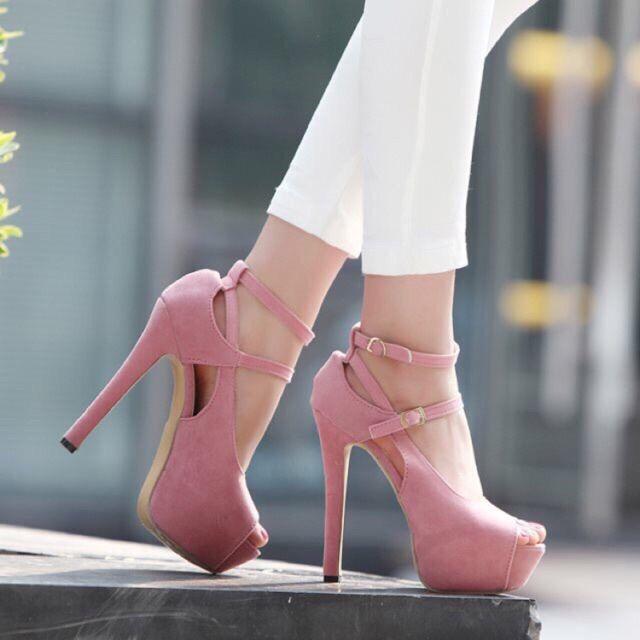 Arden Furtado 2018 spring autumn shoes woman high heels