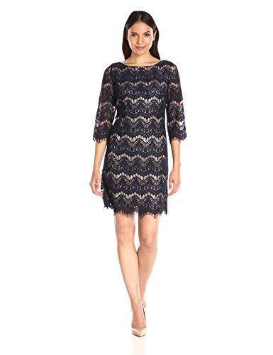dd4c7705cf9 Jessica Howard Women s Lace Shift Dress